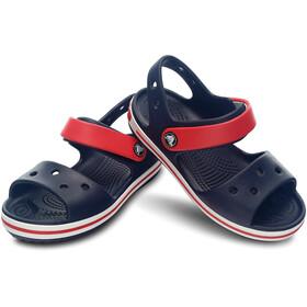 Crocs Crocband Sandaalit Lapset, navy/red